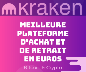 kraken achat retrait bitcoin euros sans frais gratuit