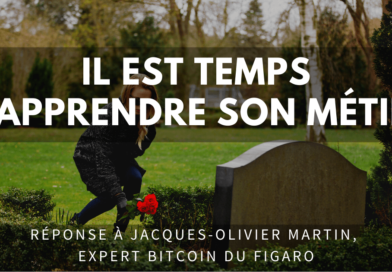 bitcoin figaro bulle jacques olivier martin